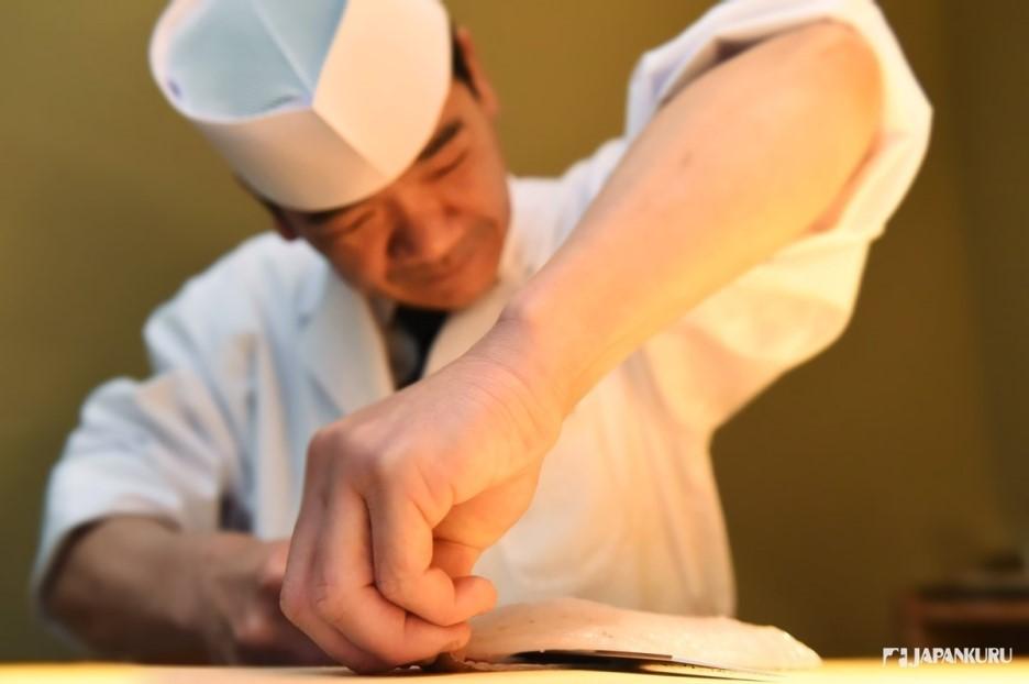 최고의 스시를 만드는 장인 요리장에게 배우는 스시!