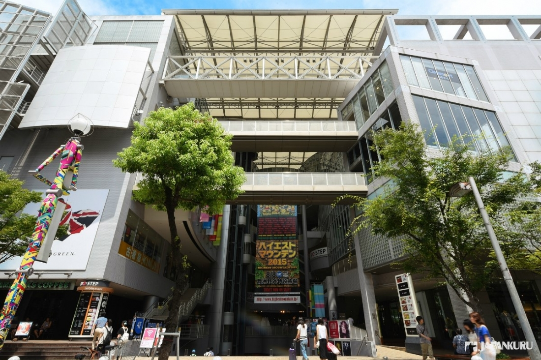 Location of American village! Shinsaibashi BIGSTEP