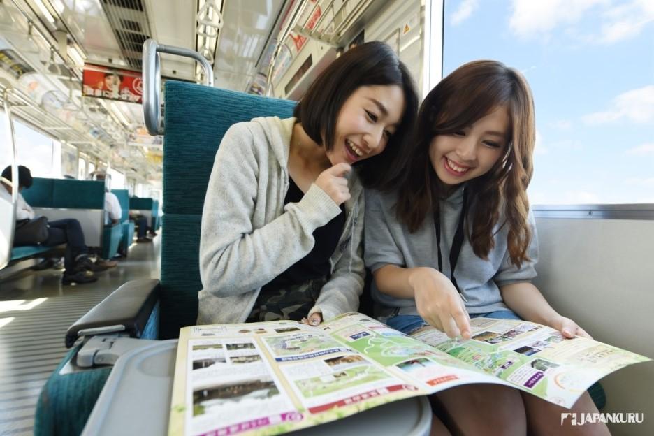 ① Train entre Akihabara et Tsukuba