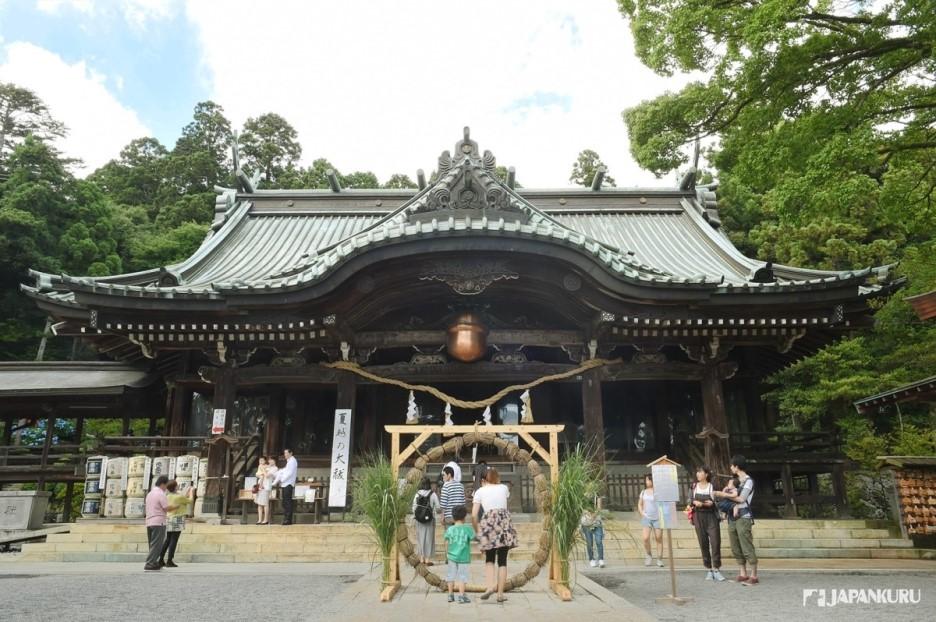 ❸ Sanctuaire Tsukuba-san