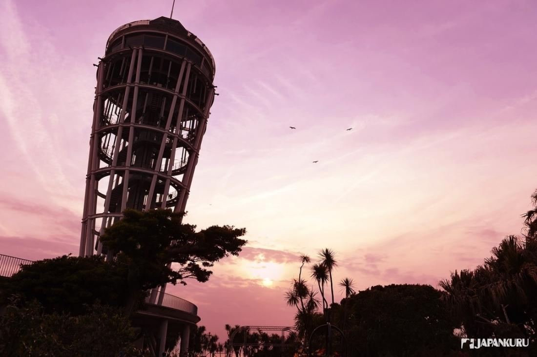 美丽的夕阳为这次的旅行画上完美的句点