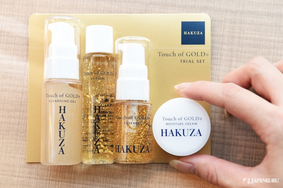 Touch of GOLD & GOLD ROOM and [HAKUZA] Collaboration