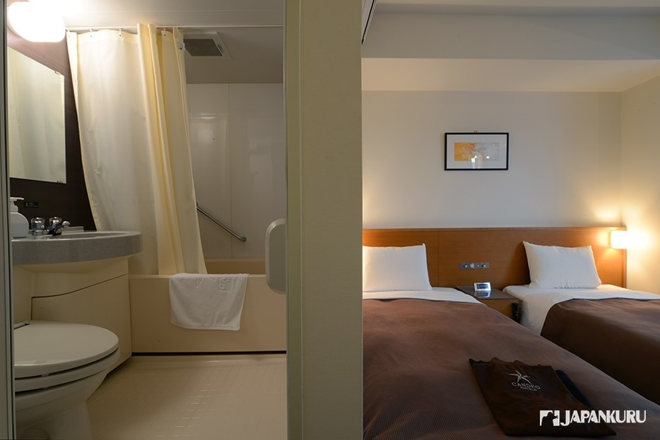寬敞的衛浴設備