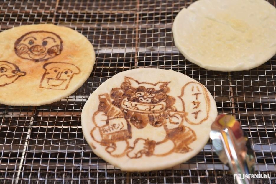 親手烤製可愛仙貝