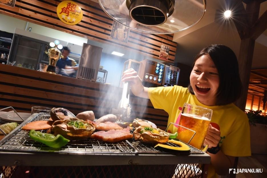吃貨的重頭戲「海鮮燒烤」