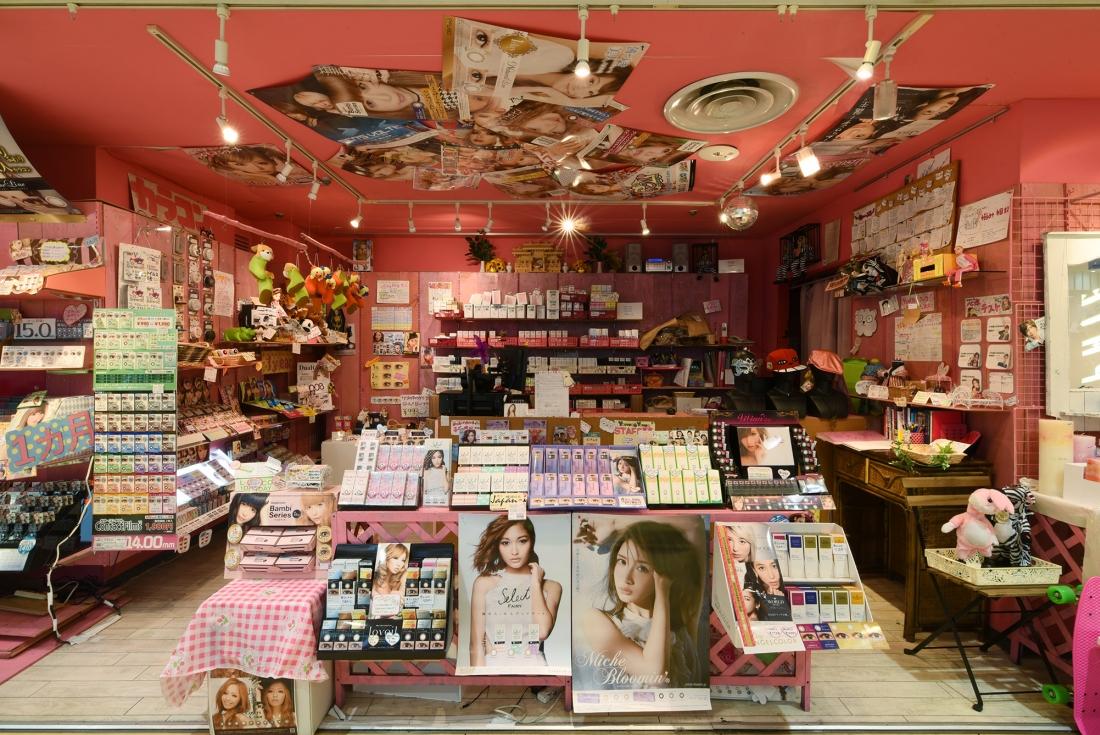 让女孩们疯狂的店内商品