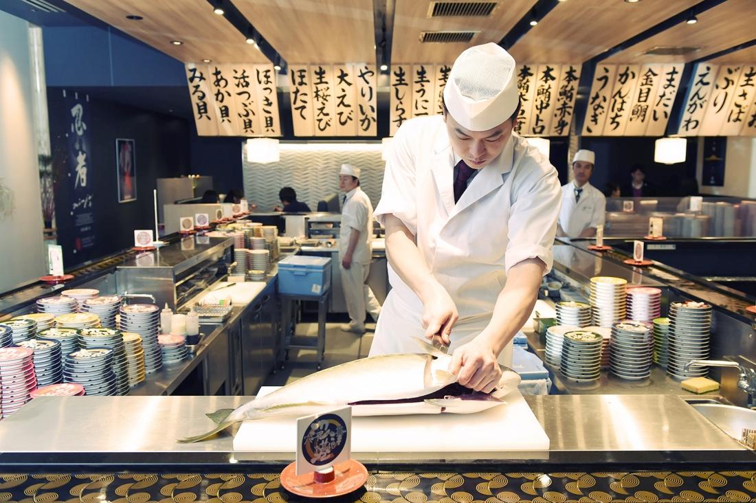 진짜 프로의 실력으로 만드는 초밥