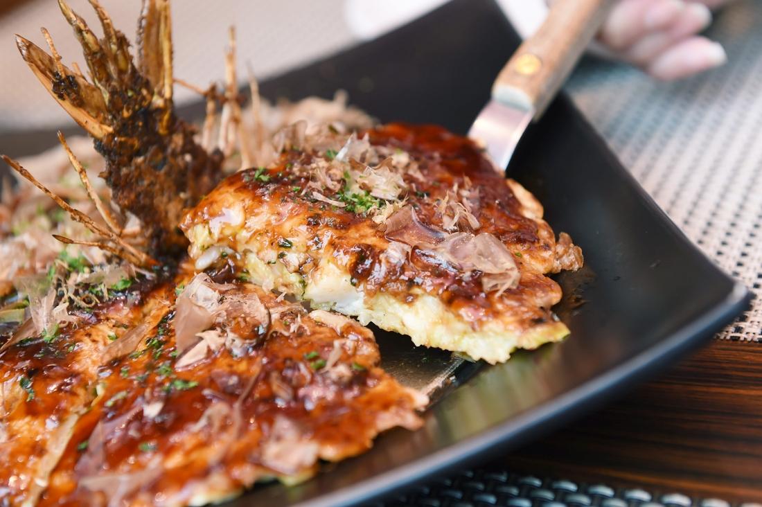 在東京也可以吃到正統大阪燒