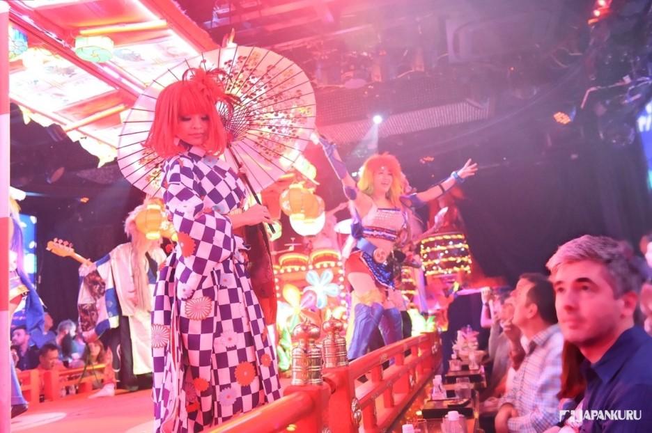 隨季節變化升級的表演 與日本傳統文化結合的表演