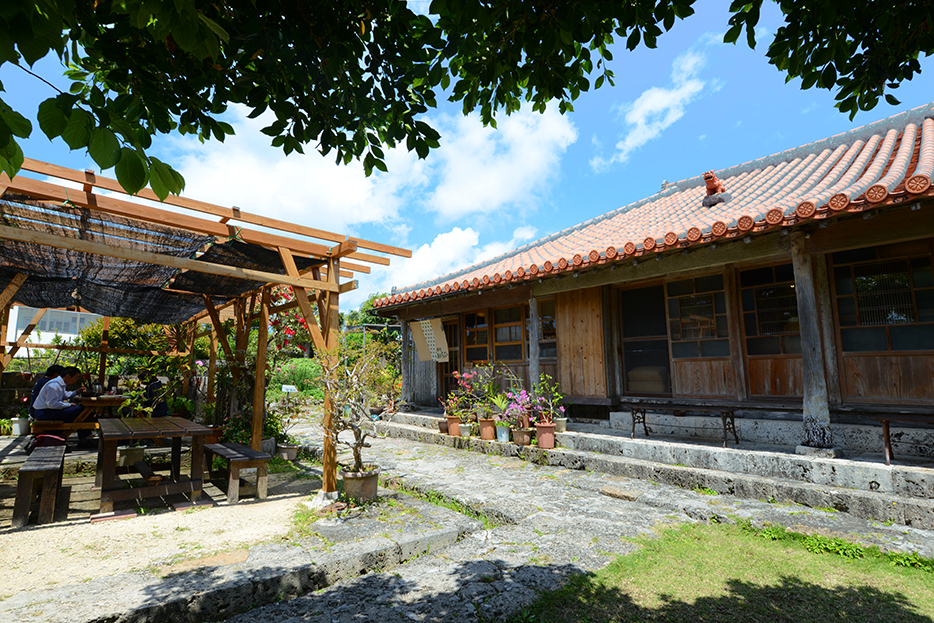 120年建築改建的茶坊