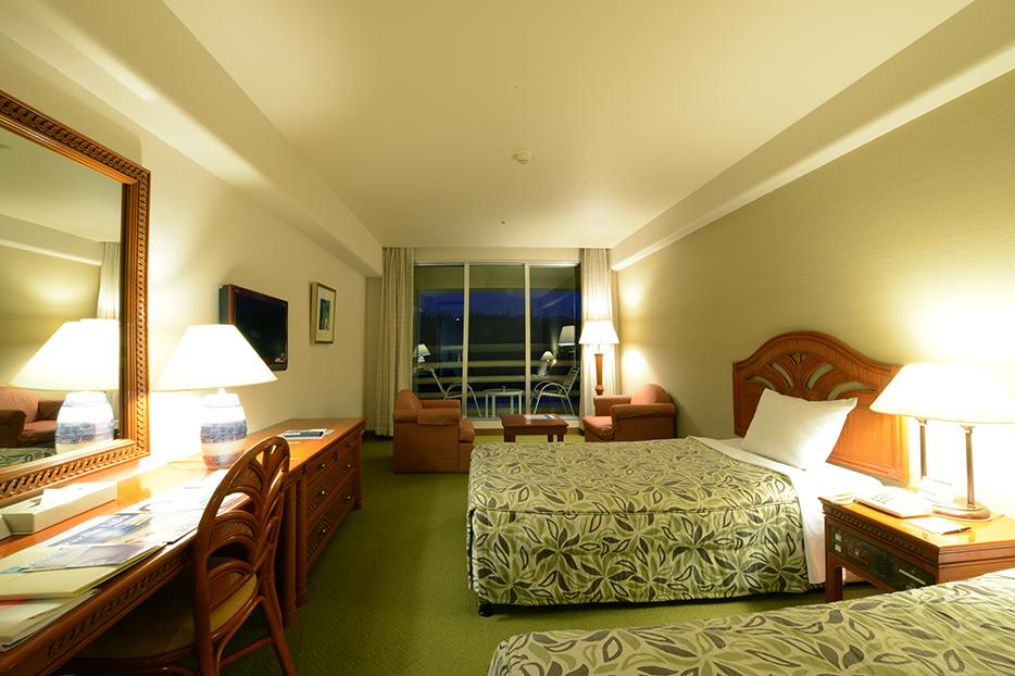 寬敞且景觀好的客房
