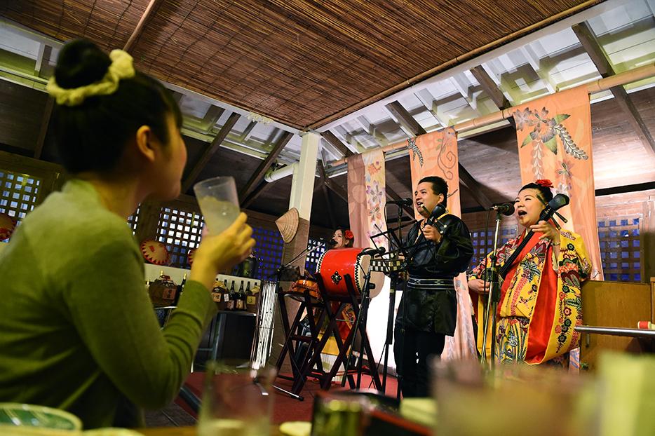 沖繩民俗表演