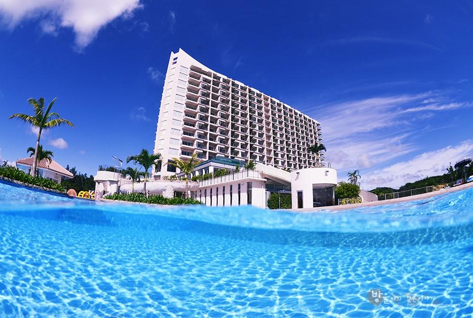 海邊的渡假飯店