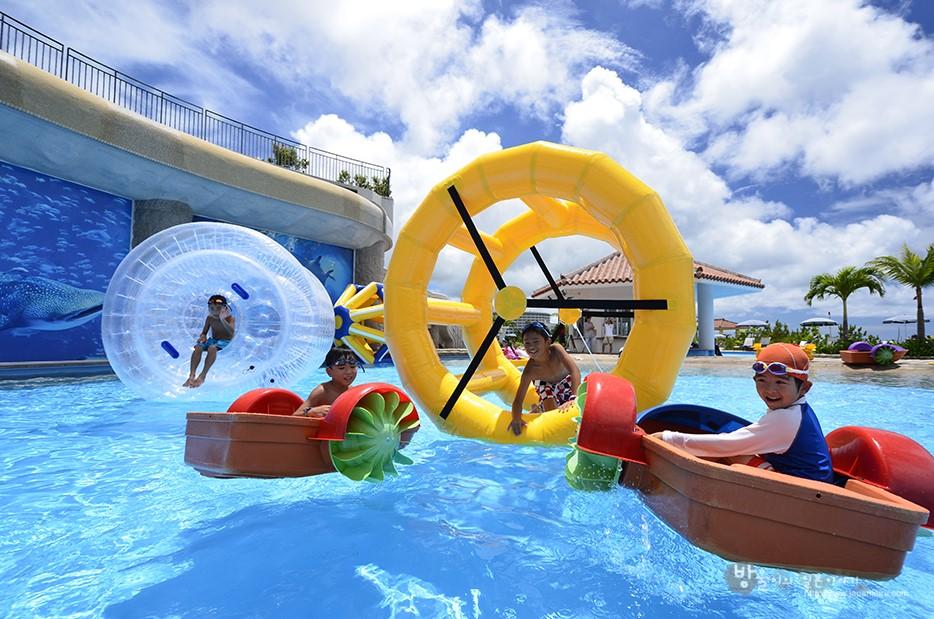 沖繩縣內最廣的游泳池