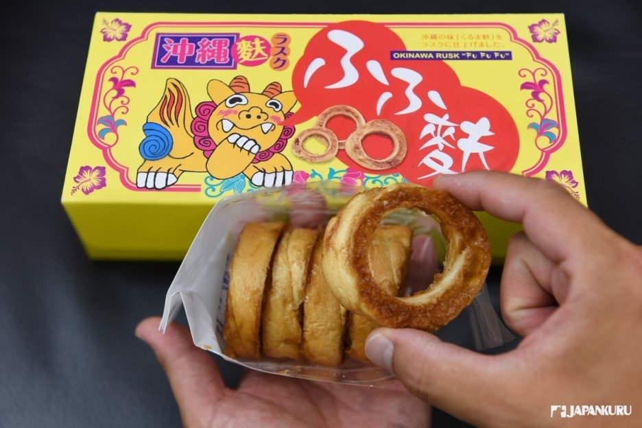 沖繩甜面包餅乾 fufufu