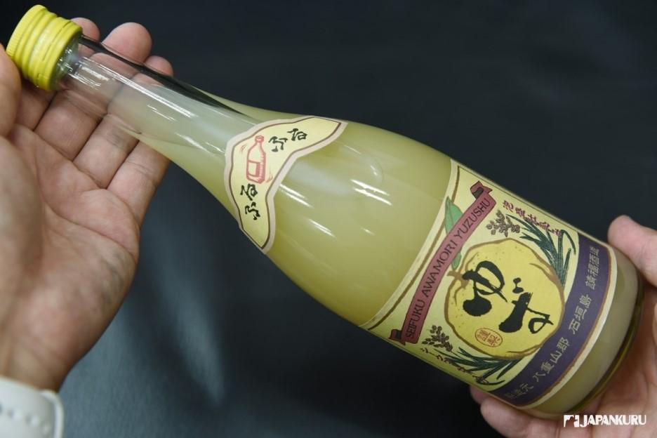 柚子香檬泡盛酒