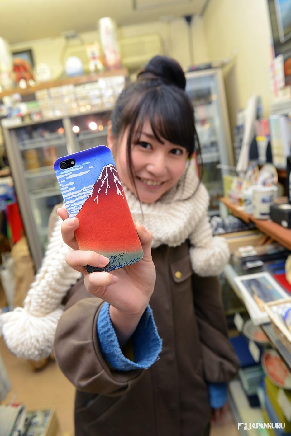 富士山手機殼