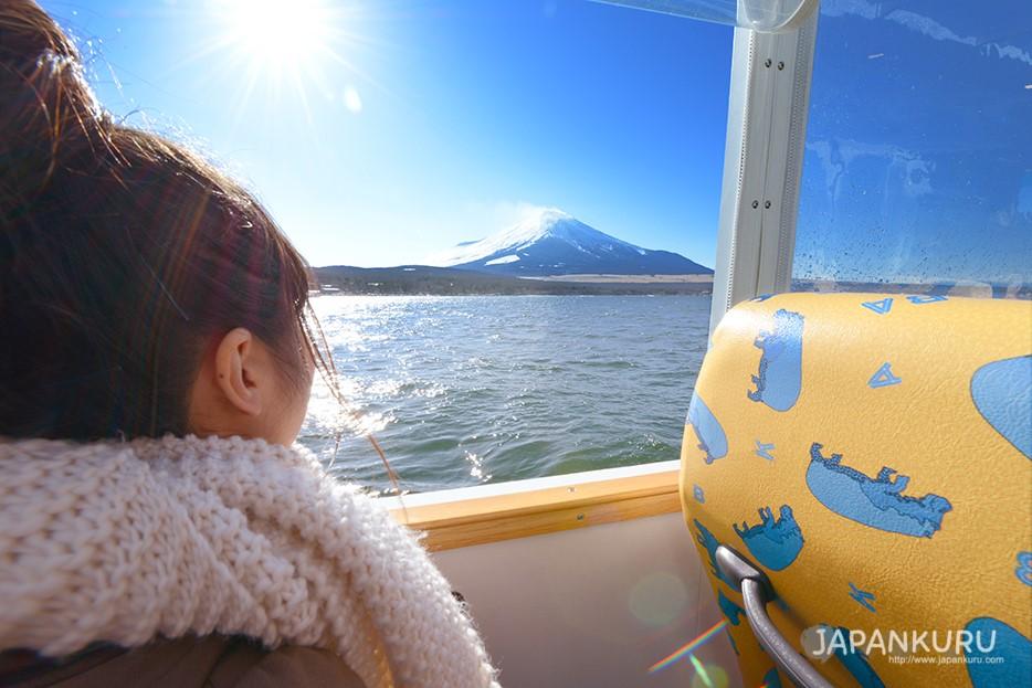 近距離欣賞富士山
