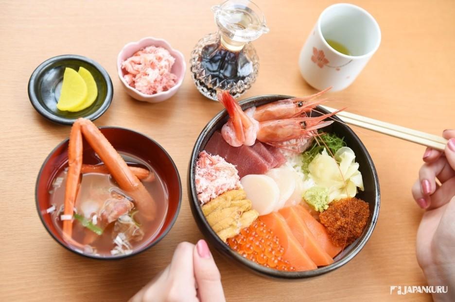 小樽海鮮蓋飯的代表選手〝posei蓋飯〞