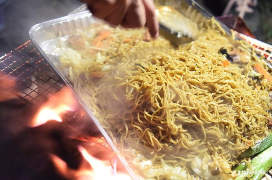 Easy BBQ Fried Noodles