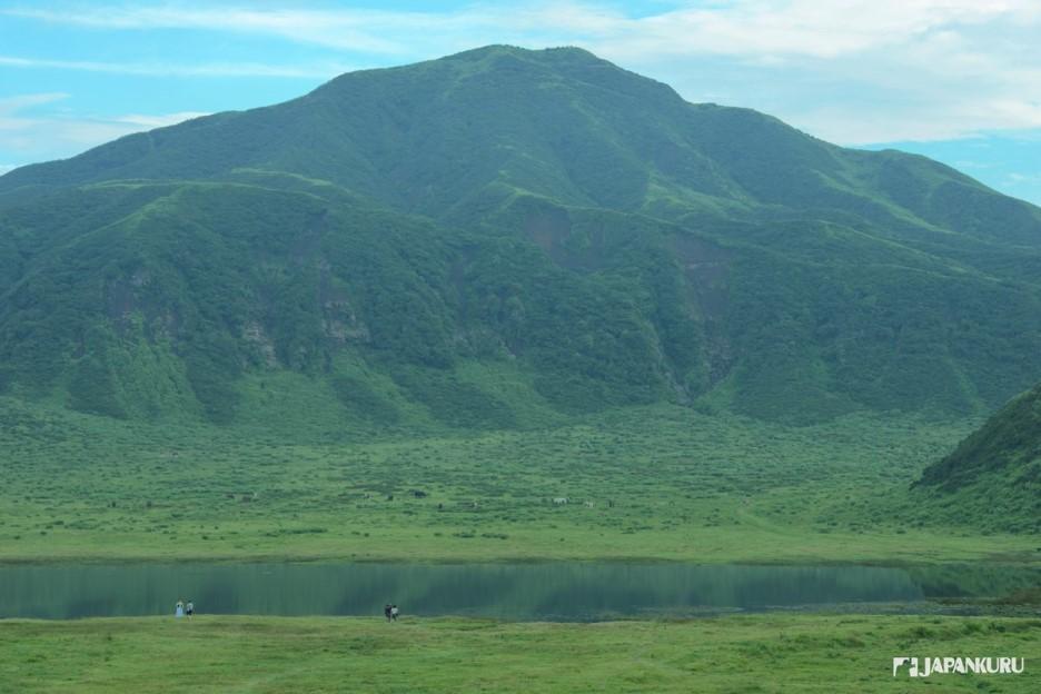 草千里的小湖