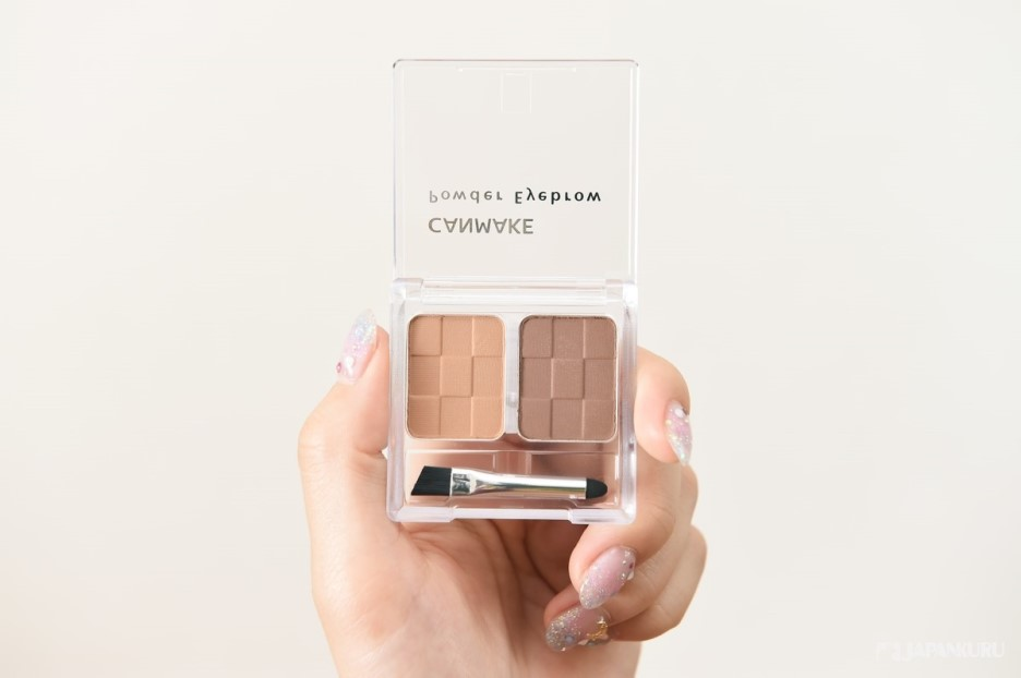Powder Eyebrow: 4 types of colors   600 yen (+TAX) each