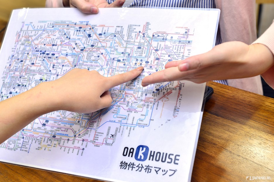 알기 쉬운 지역별 매물 지도