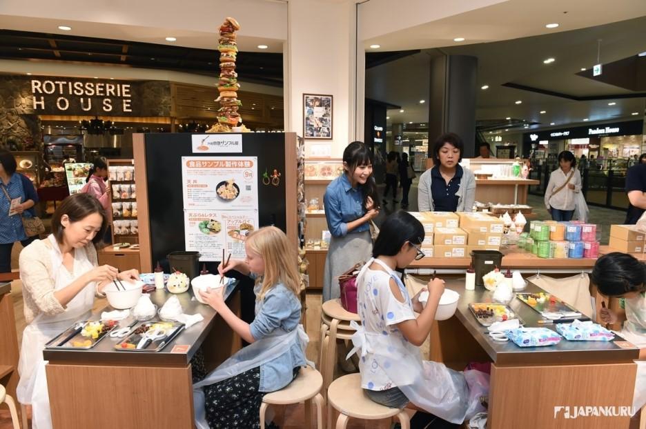 展現日本精細工藝的樣品專賣店