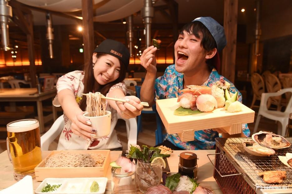 【2F】冲绳的晚餐就定这里啦!