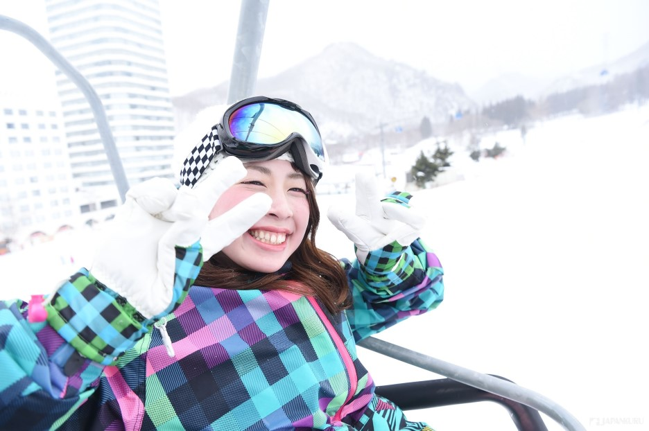 Have you ever visited a winter resort in Japan?