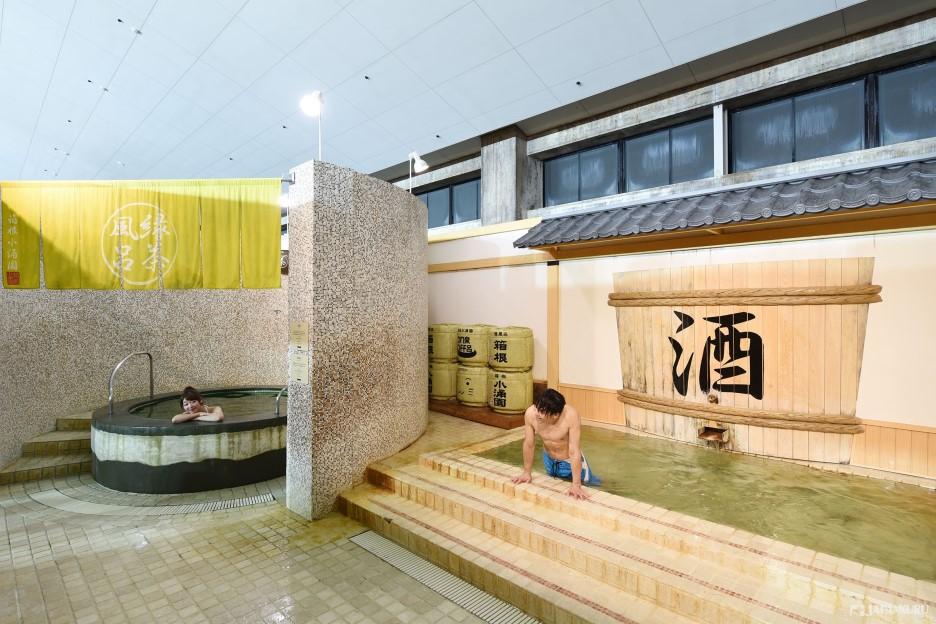 Yunessun (Bathing Suit Area)