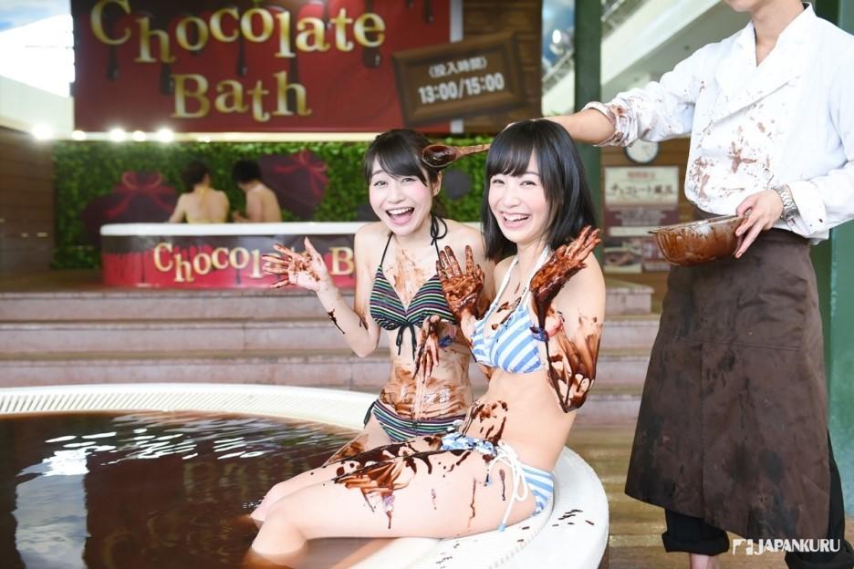 巧克力溫泉
