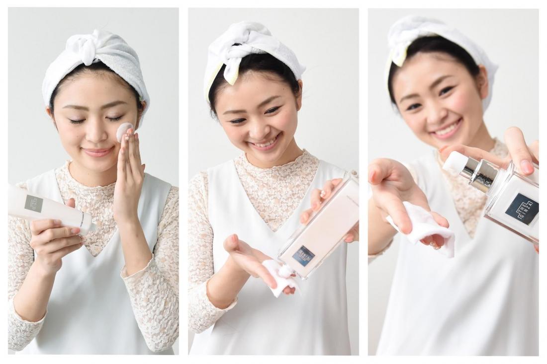 THE GINZA的基本護膚步驟