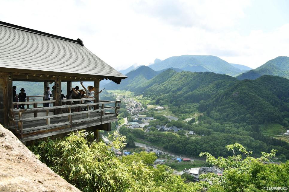 山寺最高的五大堂