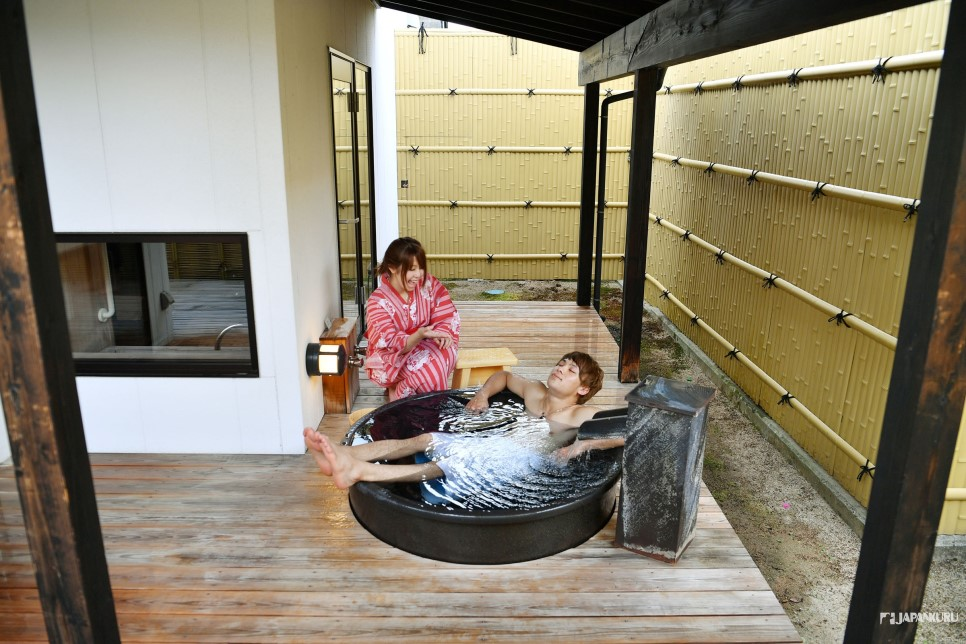 5. Private Hot Spring in Guestrooms