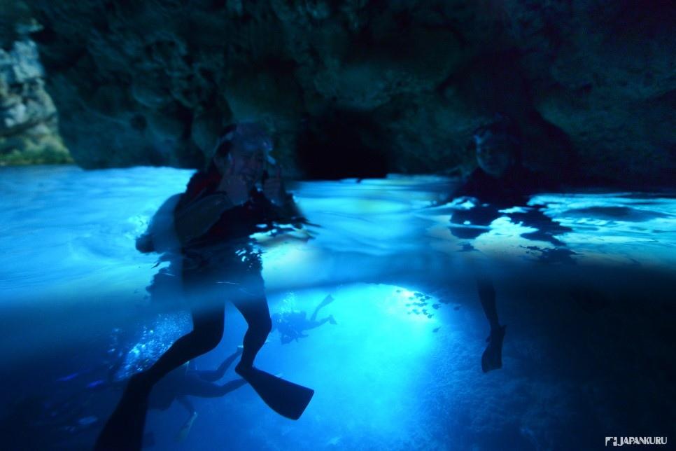 CHECK 2 青之洞窟的蓝洞浮潜体验【每个人都可以尽情享受的浮潜】