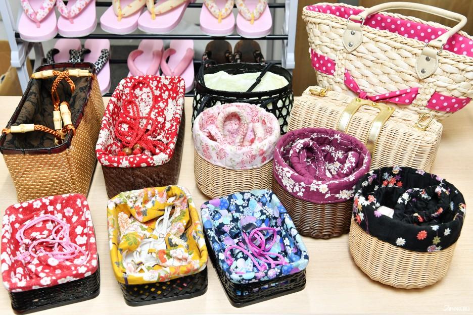 Choisissez un sac en accord avec les couleurs de votre kimono
