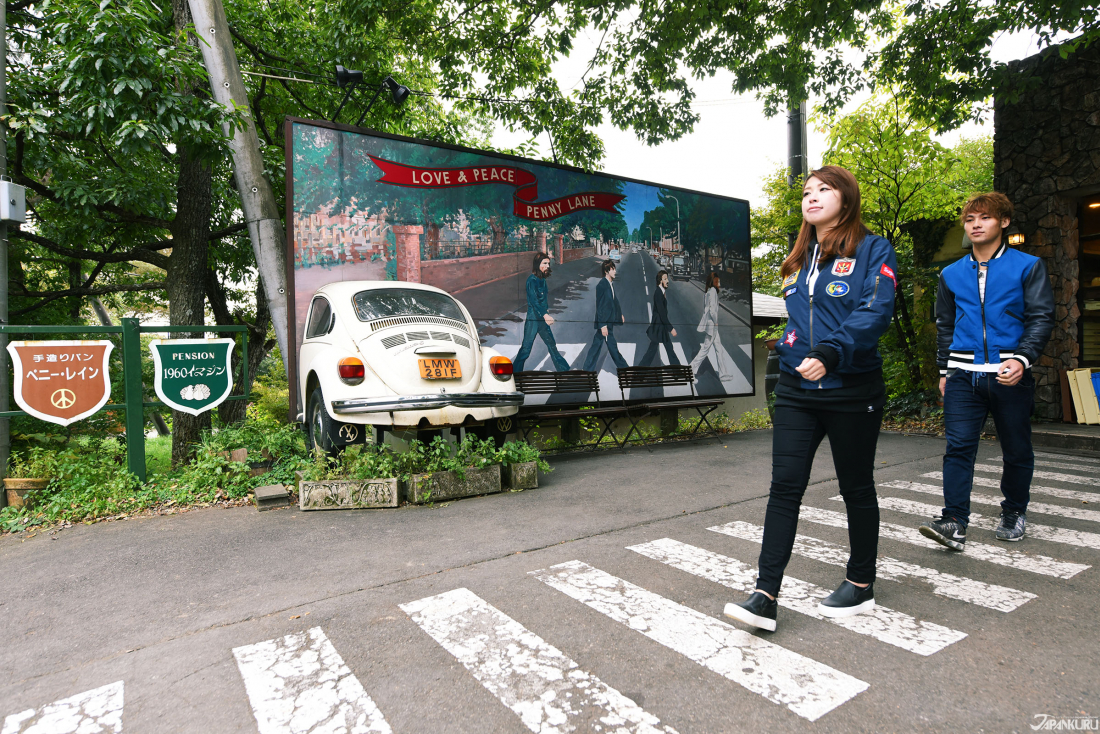 런던의 애비 로드(Abbey Road)