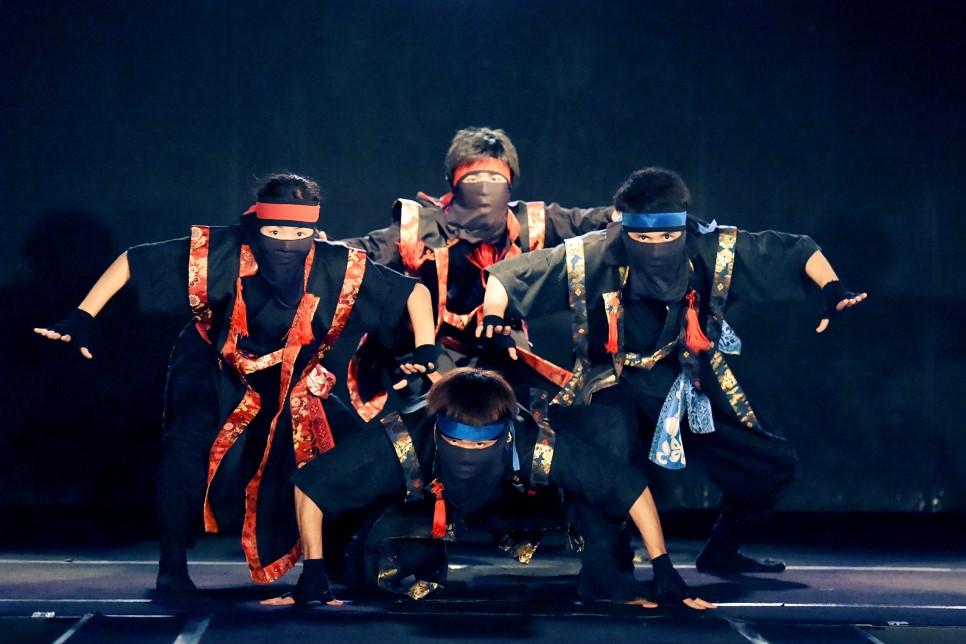 不單單只是忍者秀,還是娛樂表演的理由!