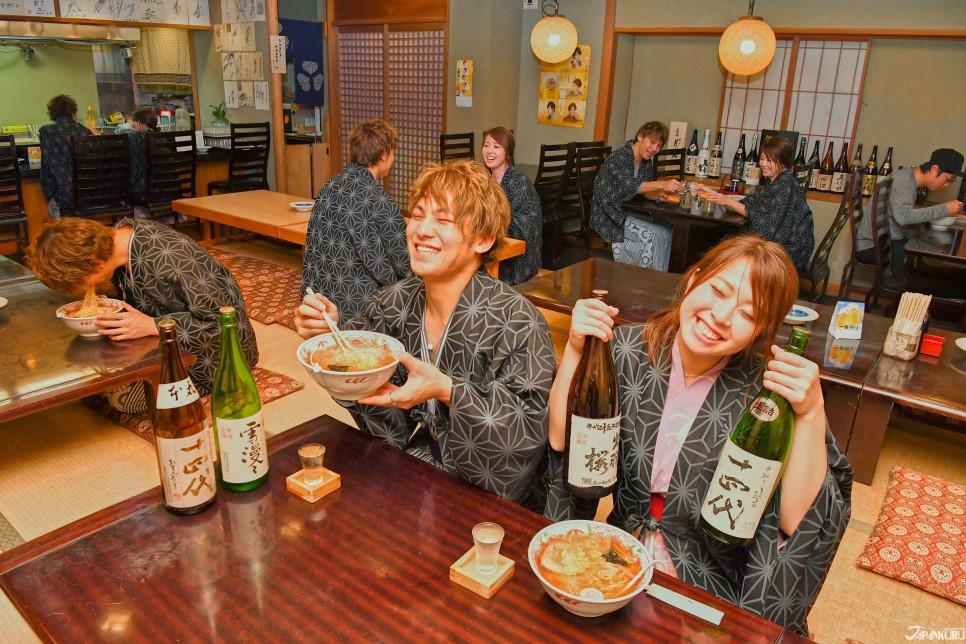 매력 일곱. 니혼슈(日本酒) 하면 덴도!