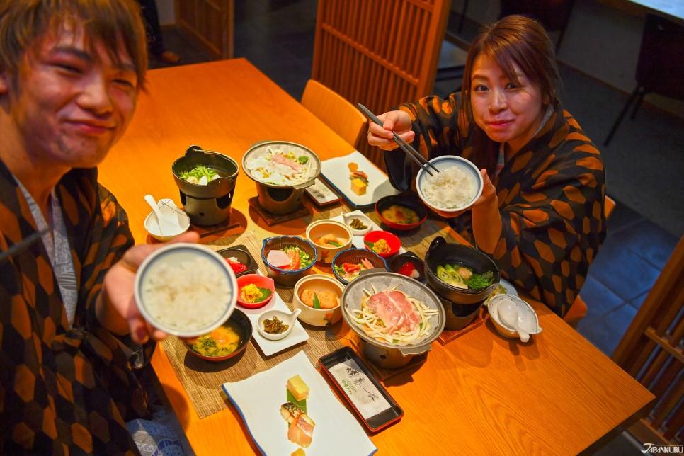 天童魅力8。沒有配菜也好吃的白米飯!