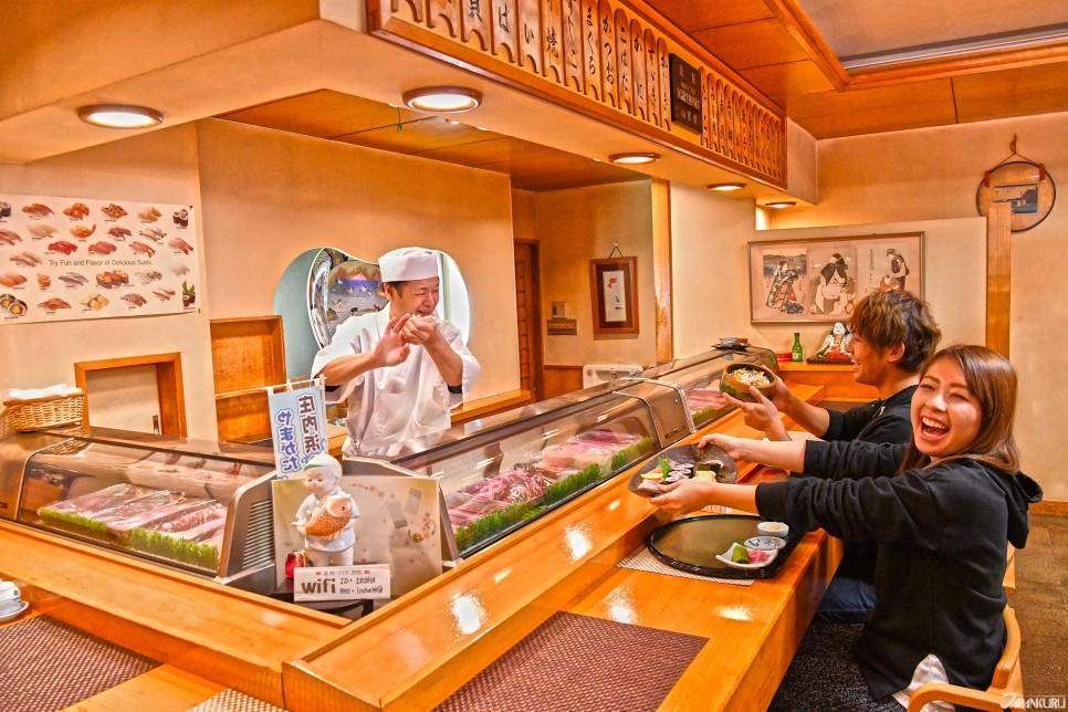 天童魅力11。和食裡不可或缺的壽司!