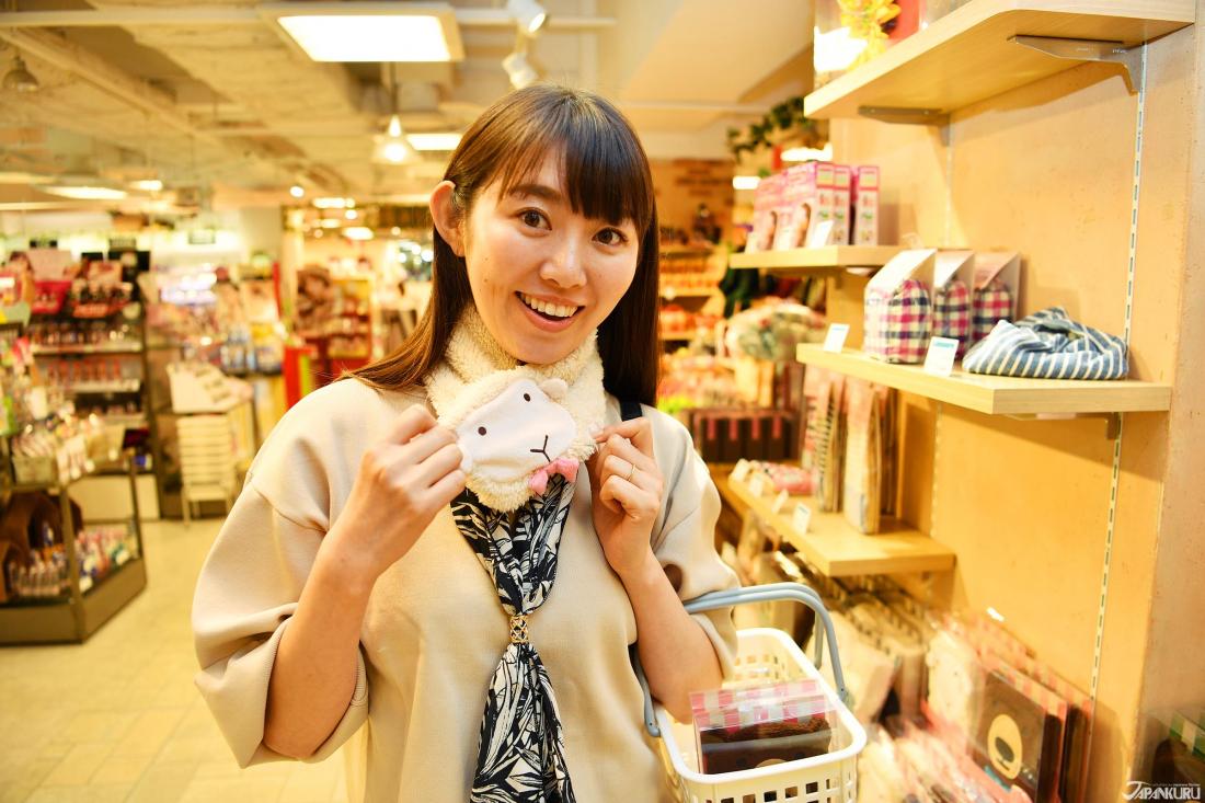 ↪동물모양 넥 워머(1,500엔~2,000엔+TAX)