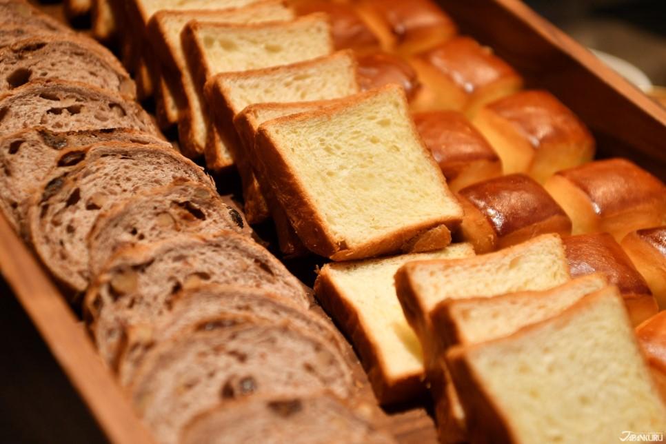 使用日本國產小麥粉製作的麵包