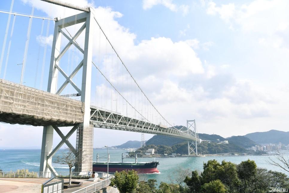 ⑤ Pont Kyushu Kanmon