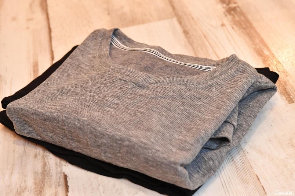 ❷ Retirez les vêtements d'intérieur
