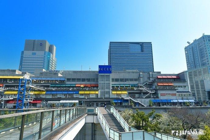 台场最人气的复合型观光商业设施狄克斯东京海滨购物中心