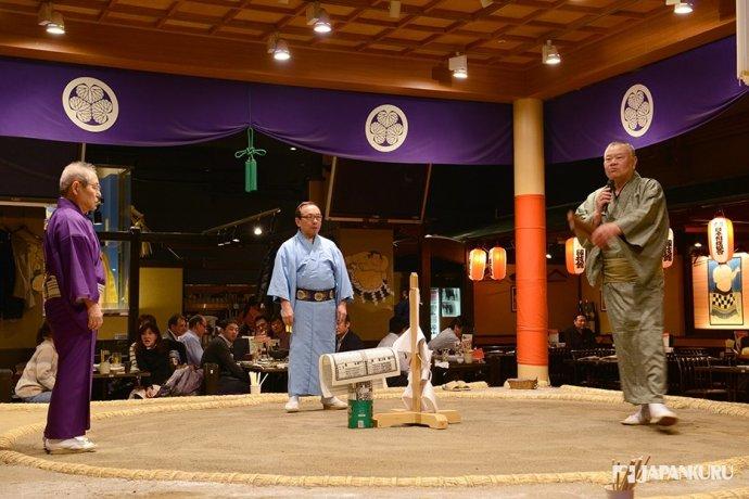相撲競技台