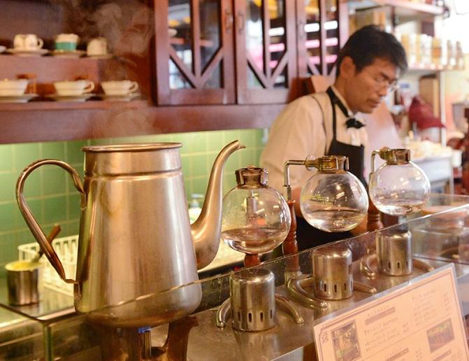 選用自家烘焙的咖啡豆