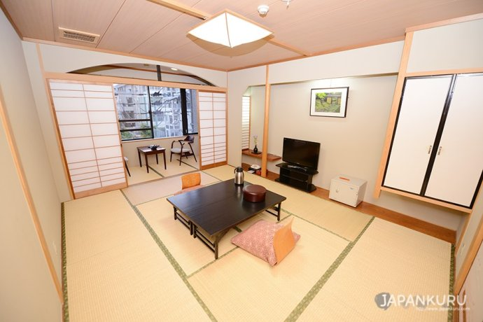日式傳統榻榻米客房 全景